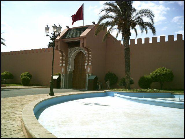 Zdjęcia: Marrakech, Royal Palace-zakazane zdjęcie, MAROKO