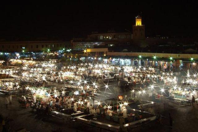 Zdjęcia: Marrakesz, Atlas, Dżemaa el-Fna, MAROKO
