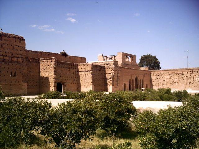 Zdj�cia: Marrakech, ruiny el-Badi, MAROKO