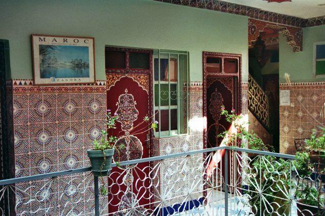 """Zdjęcia: Marrakech, w hotelu """"Medina"""", MAROKO"""