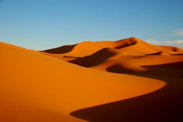Zdjęcia: Merzouga, Sahara, Barwy pustyni, MAROKO
