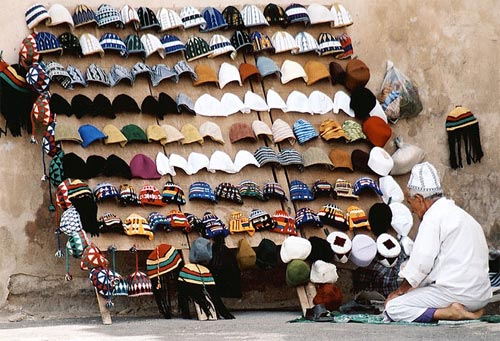 Zdj�cia: Tarudant, W�adca czapek, MAROKO