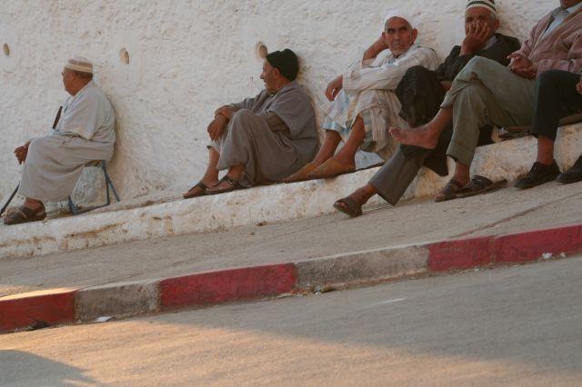 Zdjęcia: Mulaj Idris, Odpoczynek, MAROKO