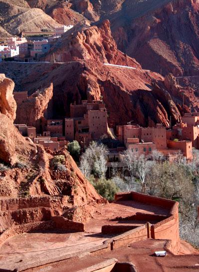 Zdjęcia: Dolina Dades, Maroko, Ogrody II, MAROKO