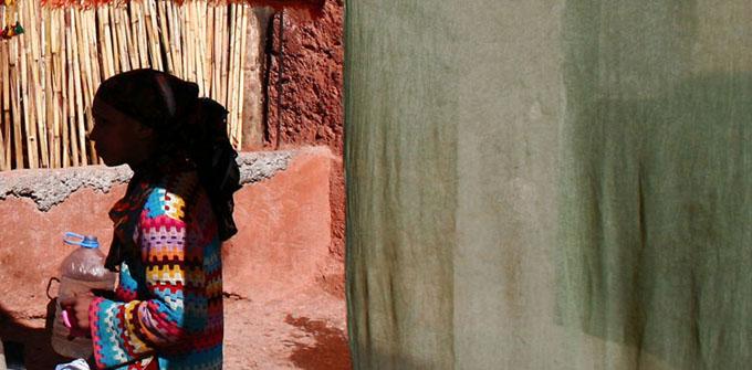 Zdjęcia: Dolina Dades, Maroko, w cieniu, MAROKO