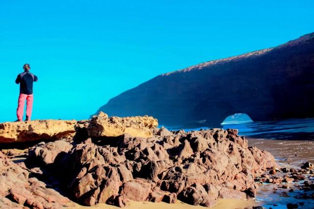 Zdjęcia: Maroko, Maroko, Afryka - wyjątkowe klify Lagzira, MAROKO