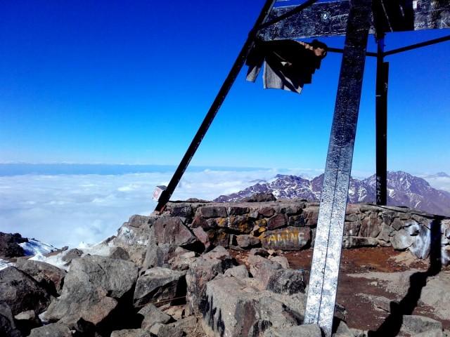 Zdjęcia: Góry Atlas, Góry Atlas, Jebel Toubkal (4167m), MAROKO