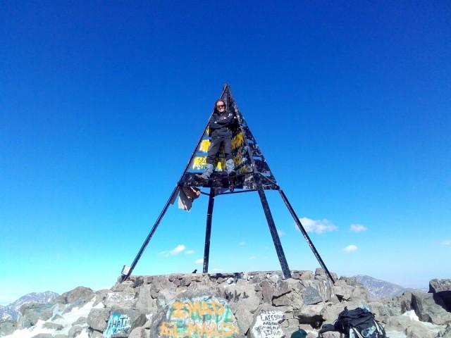Zdjęcia: Góry Atlas, Góry Atlas, Jebel Toubkal (4167m) + 2 metry, MAROKO