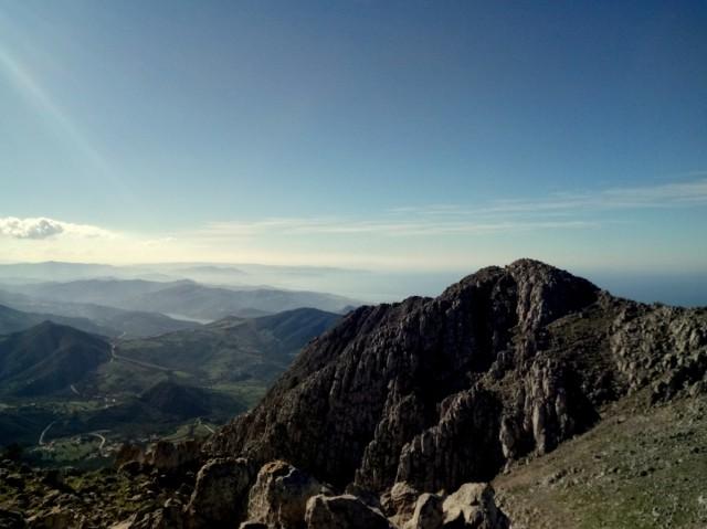 Zdjęcia: Maroko, Maroko, Widok z Dzabal Musa - Ciesnina Gibraltarksa druki Kolos Heraklesa, MAROKO