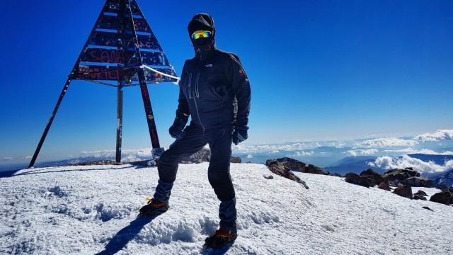 Zdjęcia: Jabal Tubkal, Góry Atlas, Dzabal Tubkal 23 stycznia ,- 30 stopni , MAROKO