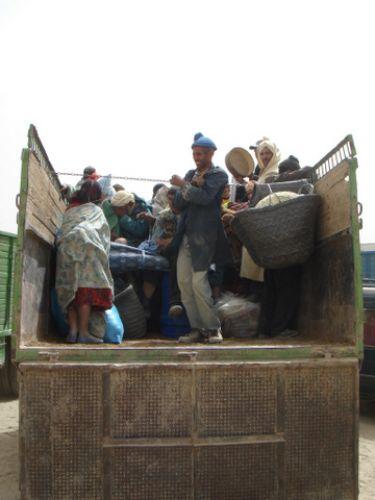 Zdjęcia: Imilchil, Atlas Środkowy, Powrót z targu w Imichil, MAROKO