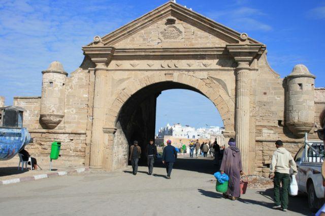Zdjęcia: Es-Sawira, wybrzeże Maroka, Brama Es-Sawiry, MAROKO