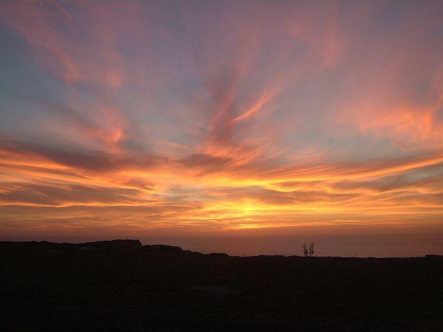 Zdjęcia: Oulida, Oulidia, zachód słońca w Oulidii, MAROKO