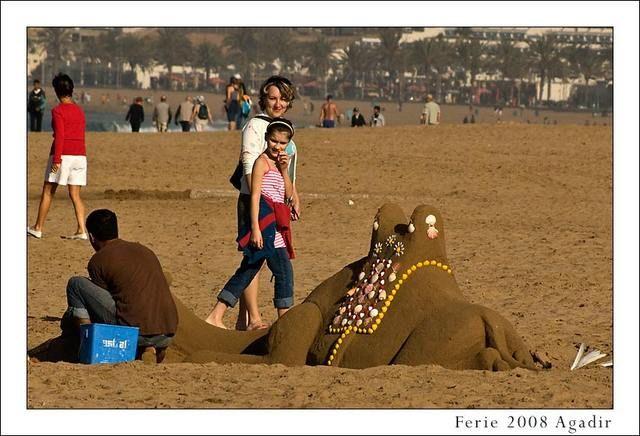 Zdjęcia: Agadir, Plaża, MAROKO