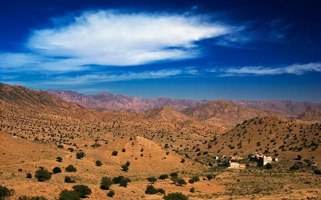 Zdjęcia: Atlas, Dolina, MAROKO