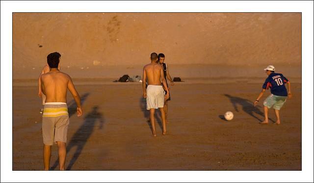 Zdjęcia: Agadir, Football, MAROKO