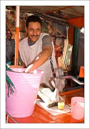 Zdjęcia: Antyatlas, Sprzedawca soku, MAROKO