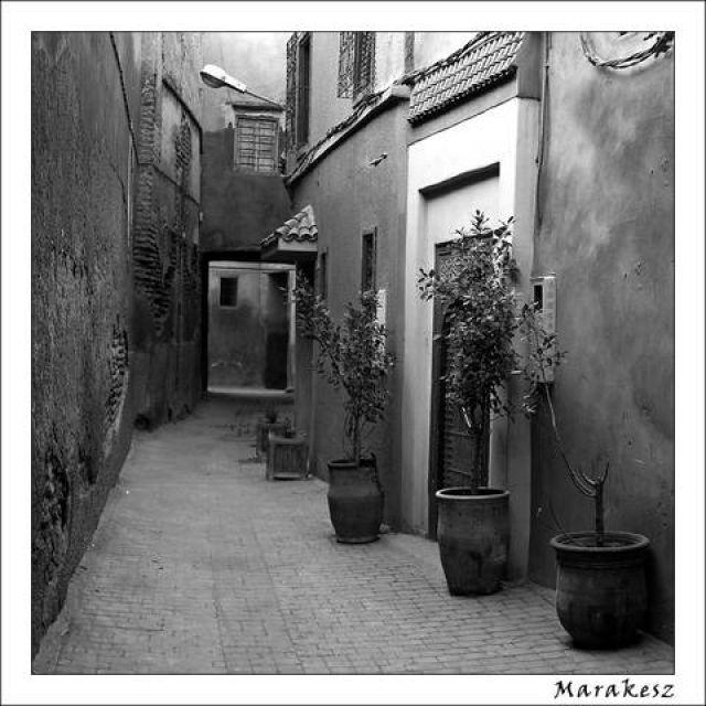 Zdjęcia: Marakesz, Uliczki medyny, MAROKO