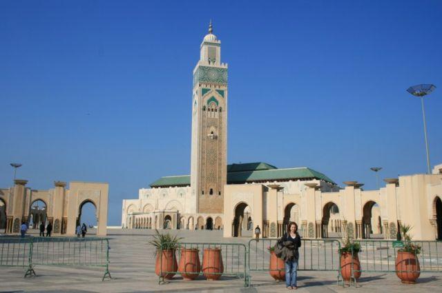Zdj�cia: Rabat, wybrze�e Maroka, Meczet Hassana II , MAROKO