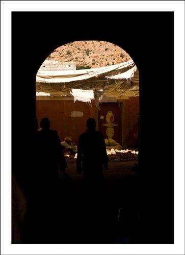 Zdj�cia: Antyatlas, W cieniu, MAROKO