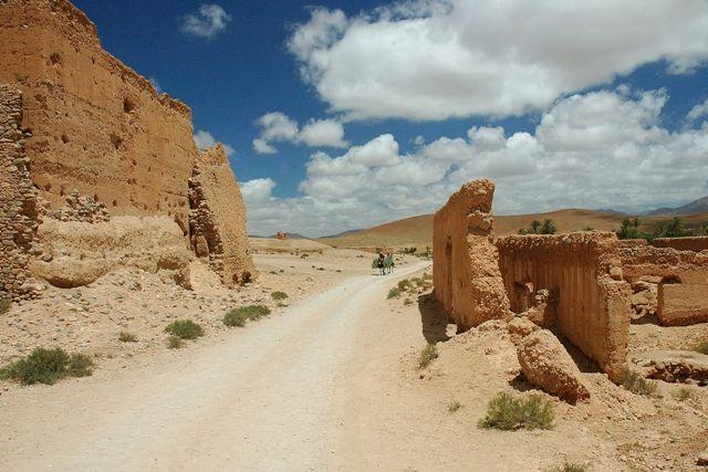 Zdjęcia: Tafraoute, Tafraoute, Z wizytą u miejscowych, MAROKO