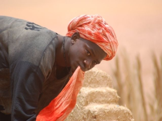 Zdjęcia: Sahara, Praca, MAROKO