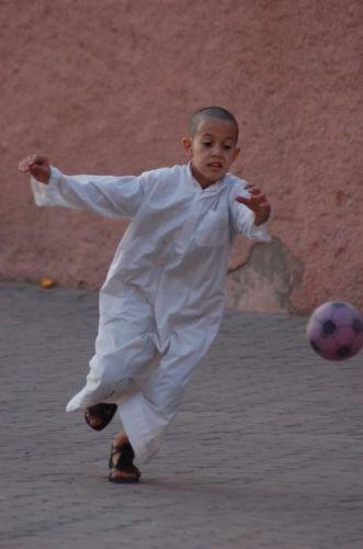 Zdjęcia: Marrakesz, Futboll, MAROKO