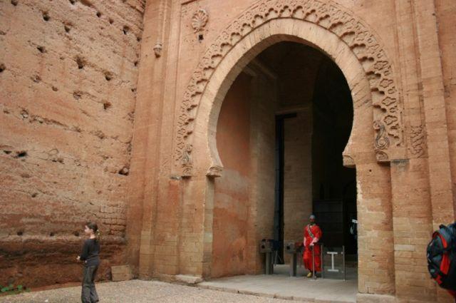 Zdjęcia: Rabat, wybrzeże Maroka, brama do najstarszych zabytków Rabatu, MAROKO