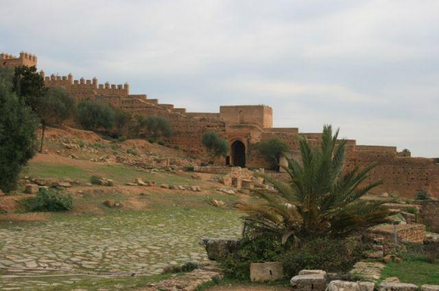 Zdjęcia: Rabat, wybrzeże Maroka, ruiny najstarszej części Rabatu, MAROKO