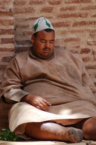Zdjęcia: Marrakesz, Czekając na chłód, MAROKO
