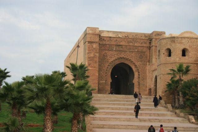 Zdjęcia: Rabat, wybrzeże Maroka, Zaczyna się Kazba, MAROKO