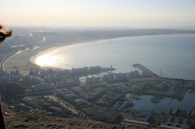 Zdjęcia: Agadir, wybrzeże Maroka, panorama miasta Agadir, MAROKO