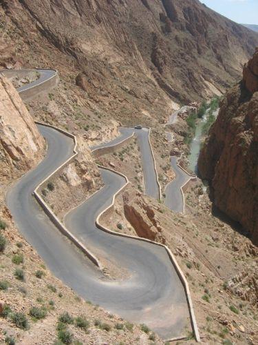 Zdjęcia: gdzies w drodze na Gorges du Dades du Todhra, marokanskie drogi, MAROKO