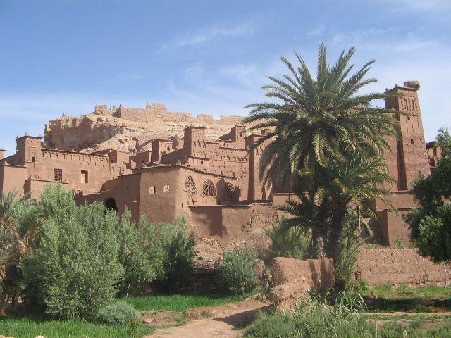 Zdjęcia: Ouarzazate, Kasbah Ait Ben Hadou , MAROKO