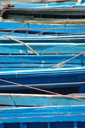 Zdjęcia: port, Essaouira, łodzie, MAROKO