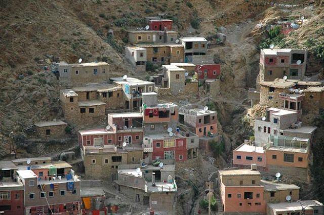 Zdjęcia: setti fatma, dolina Uriki, miasteczko jak z kolorowych klocków, MAROKO
