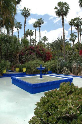 Zdj�cia: Marrakesz, Jardin Majorelle, YSL, Marrakesz, ogrody Marrakeszu, MAROKO