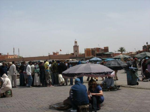 Zdj�cia: Marakesz, Wiosna w Maroku, MAROKO