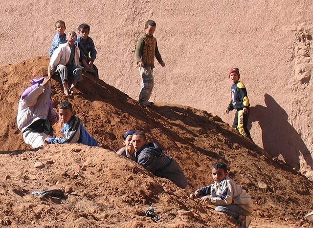 Zdjęcia: Pustynia, cały kraj to wielka piaskownica, MAROKO