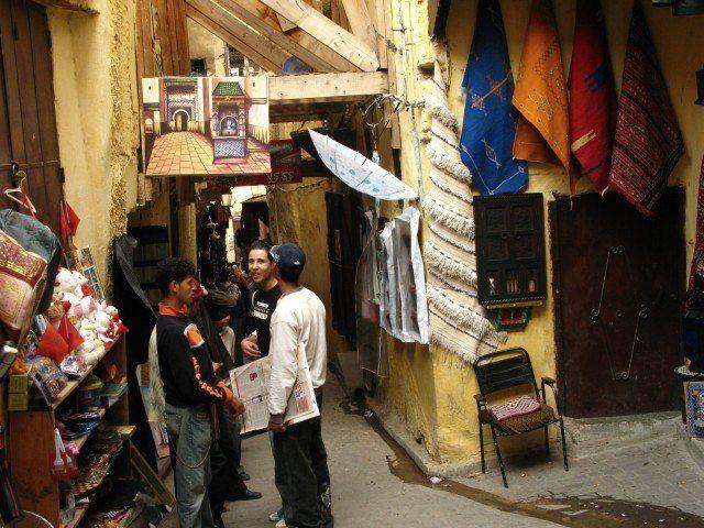 Zdjęcia: Fez, Życie medyny, MAROKO