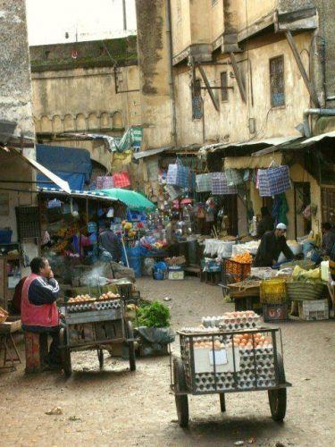 Zdj�cia: Fez, Targ w Fezie, MAROKO
