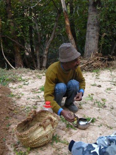 Zdjęcia: Toudra, Przerwa na berberyjską whiskey, czyli herbatkę miętową, MAROKO