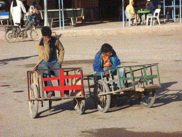 Zdjęcia: Akka - Maroko Zach., Leniwy poranek, MAROKO