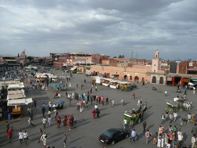 Zdj�cia: Marrakesz, Jemaa el-Fna, MAROKO