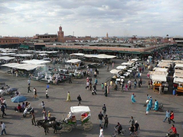 Zdjęcia: Marrakesz, Jemaa el-Fna, MAROKO