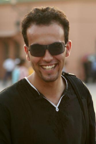 Zdjęcia: marrakesz, szczesliwy marokanczyk, MAROKO