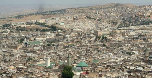 Zdjęcia: fez, panorama Fezu, MAROKO