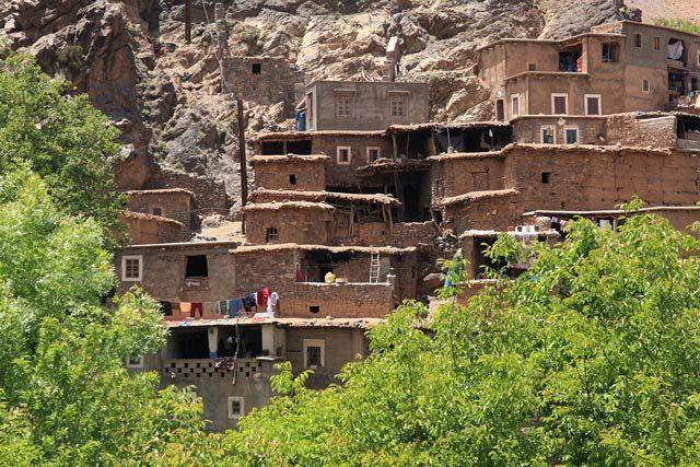 Zdjęcia: Berberyjska wieś Tinerhourhine, JBEL TOUBKAL - Góry Atlas Wysoki , Z wizytą w Tinerhourhine 2, MAROKO