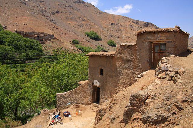 Zdjęcia: Berberyjska wieś Tinerhourhine, JBEL TOUBKAL - Góry Atlas Wysoki , Z wizytą w Tinerhourhine 4, MAROKO