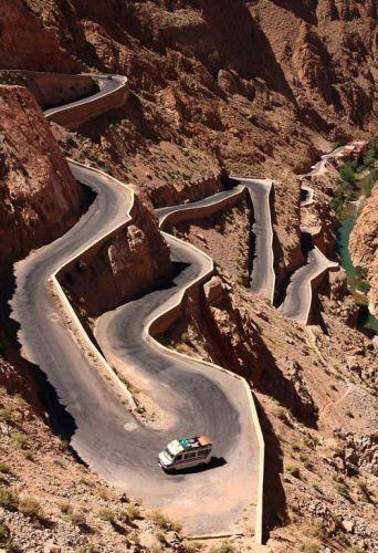 Zdjęcia: Gorges du Dades, Marokańskie drogi ..., MAROKO